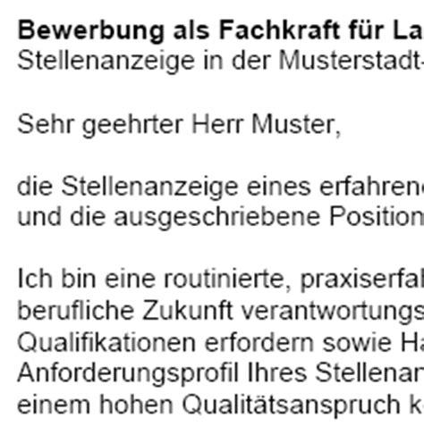 Bewerbung Ausbildung Fachkraft Fur Lagerlogistik Muster 6 bewerbung fachkraft f 252 r lagerlogistik rechnungsvorlage