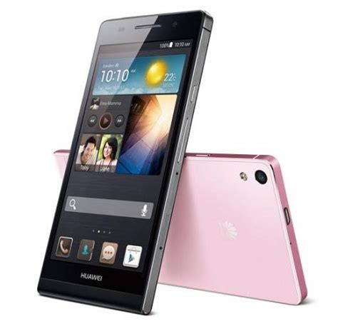 huawei ascend p6 the slimmest smartphone in the world