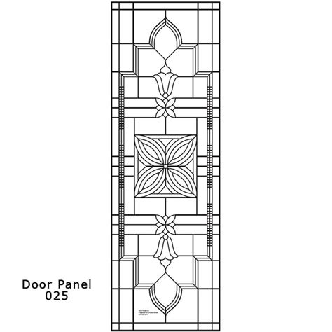 door panel design 025 ornamental stained glass buy