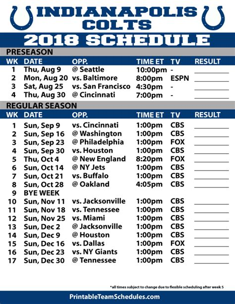 printable entire nfl schedule 2014 2015 complete printable nfl season schedule autos post