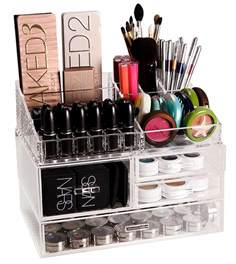 Lipstick Makeup Box Vanity Organizer Is By Simplify The Container Store Luxe Acrylic Modular System Makeup