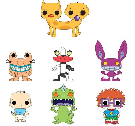 figure nickelodeon shows nickalive funko unveils look at new 90s