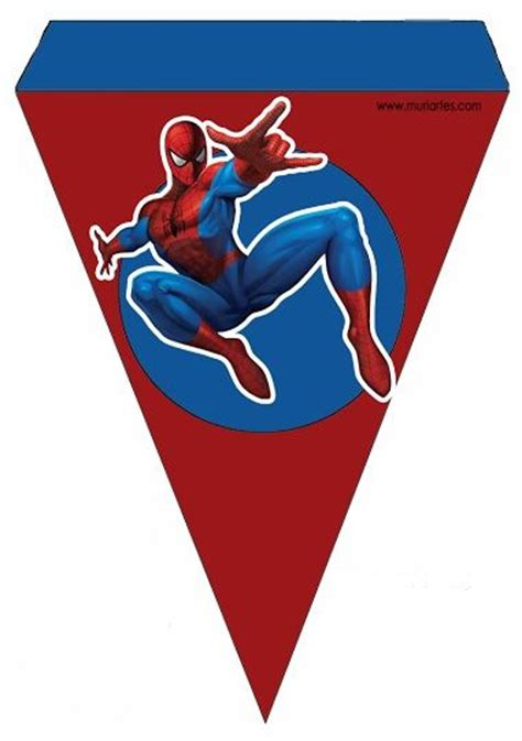printable spiderman birthday banner 114 best images about spiderman on pinterest free