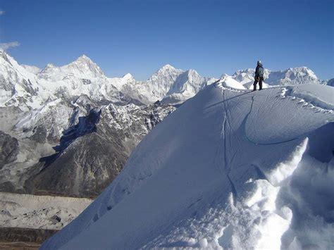 everest base camp  island peak climb mount everest