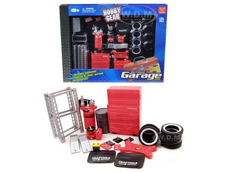 garage tools on ebay garage accessories tools set for 1 24 scale cars 18420 ebay