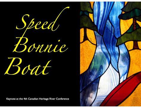 speed bonnie boat speed bonnie boat james raffan