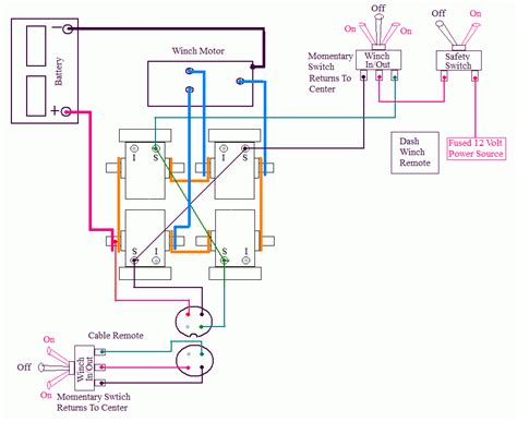 warn winch switch wiring winch free printable wiring