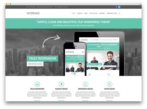 word press templates free 30 free responsive business themes 2017 colorlib