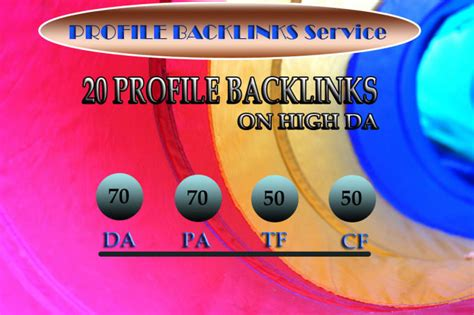 submit profile backlinks  high domain authority sites