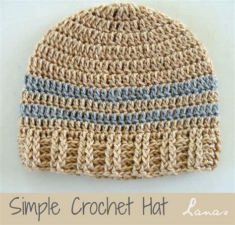 pattern for simple crochet hat lanas de ana ideas simple hats