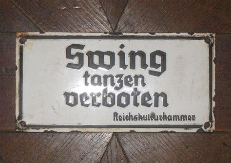 swing im dritten reich swing tanzen verboten faites votre jeu 01 06 2010 171 ex