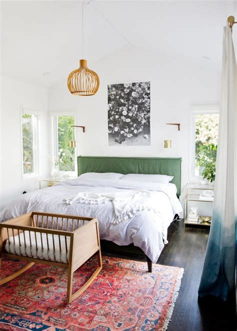 colorful headboard rugs home decor colorful midcentury modern bedroom