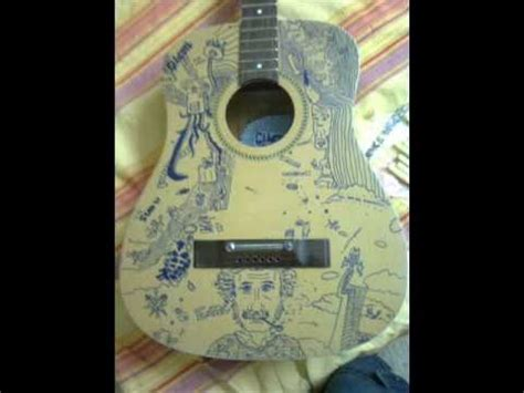 how to customize you acoustic guitar youtube