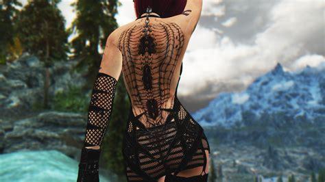 skyrim tattoo mod skyrim merta assassin mod by skyrimatdusk on