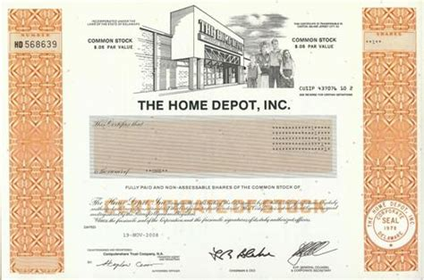 home depot company profile