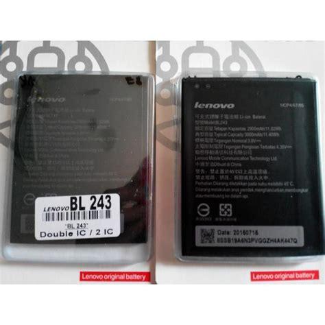 Baterai Lenovo A7000 Bl 243 Bl243 Rakkipanda Lenovo Baterai Battery Batre Bl 243 Bl243 Bl 243