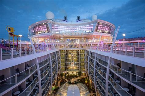 royal caribbean largest ship onboard the world s largest passenger ship 25 photos