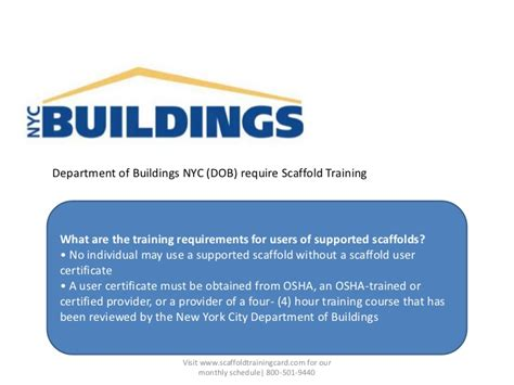 Nyc Dob Designated Foreman Card Template by Scaffold In Ny