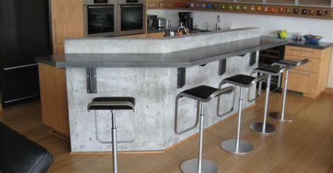 bar counter top bar countertops the concrete network