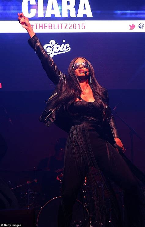 Channeling Axl by Ciara Shows 60lb Weight Loss In A Fringed Bustier