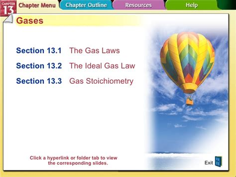 section 3 2 the gas laws chapter 13