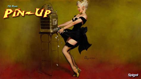 pin up classic pin up george spigot s blog
