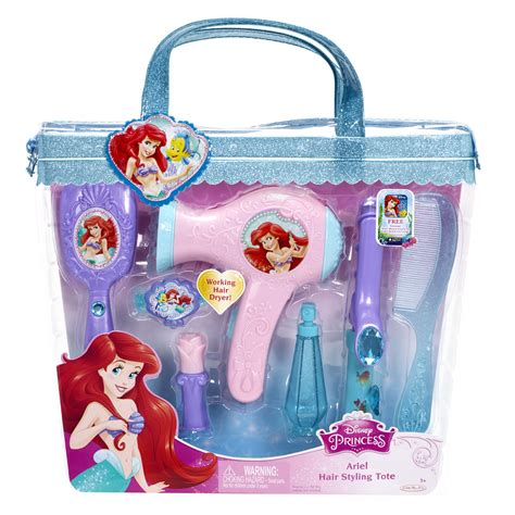 play hair style kit disney hair styling tote disney the mermaid ariel