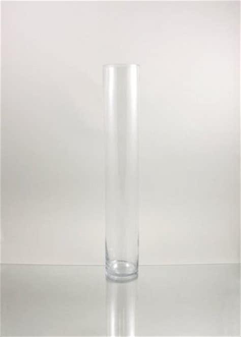 4 Inch Cylinder Vase by Wgv Clear Cylinder Glass Vase 4 By 20 Inch Ebay