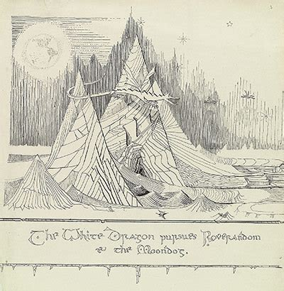 Jrr Tolkien Essays by The Of The Hobbit Illustrations From The J R R Tolkien Papers The Atlantic