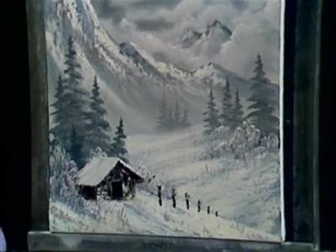 bob ross painting grey a pen by grovejay