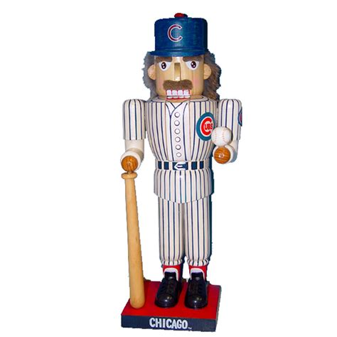 kurt s adler 14 quot cubs baseball player nutcracker