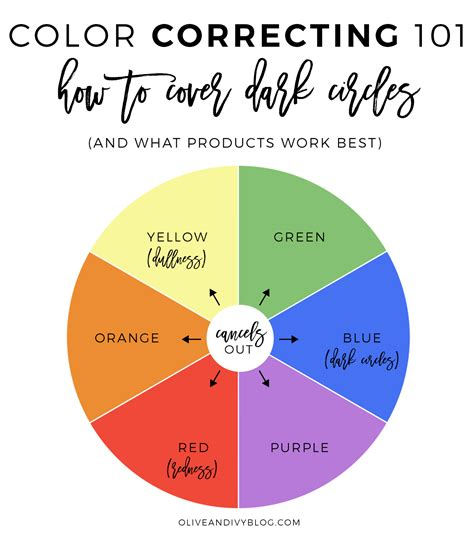 color correcting 101 how to cover circles olive