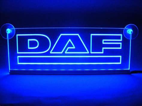 Lavendel Bestellen 499 by Led Neon Plaat Daf Logo Nieuw Blauw Led Platen Binnen