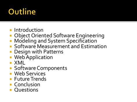 design pattern in object oriented software engineering software engineering for web applications