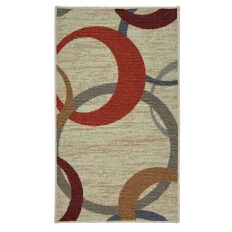 mohawk rainbow rug mohawk home picturale rainbow 1 5 ft x 2 5 ft area rug 002198 the home depot