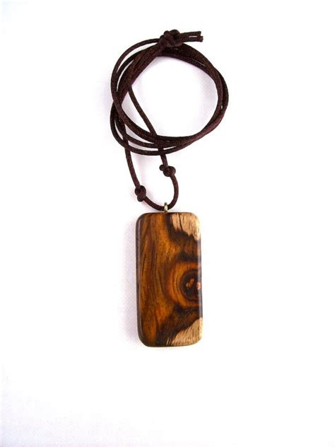 wood for jewelry wooden jewelry wood pendant rectangular pendant wood