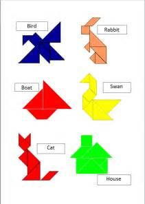 sew very simple easy to make tangram puzzle