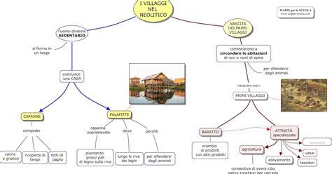 alimentazione nel paleolitico mappe per la scuola villaggi nel neolitico