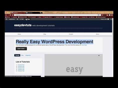 tutorial wordpress developer wordpress development tutorials pt 18 advanced custom