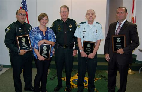 Volusia County Sheriff Office by Sheriff S Office Honors Employees Of The Quarter
