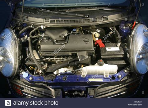 car nissan micra 1 2 miniapprox s blue blue model year stock photo royalty free image