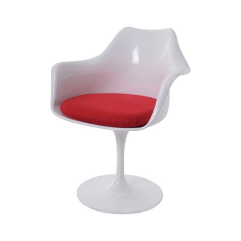 Saarinen Stuhl by Eero Saarinen Dining Chair Tulip Chair With Arms Design