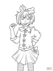 junie b jones coloring page free printable coloring pages