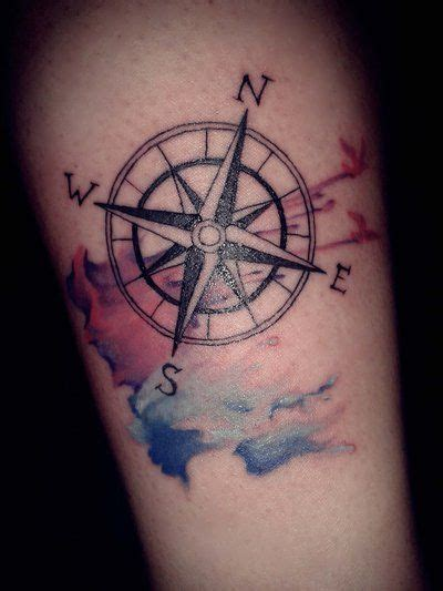 coloured compass tattoo compass tattoos for men ideas and designs for guys