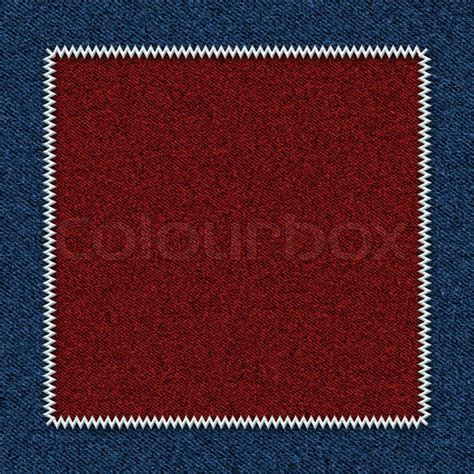 background from a fabric with a patch stock