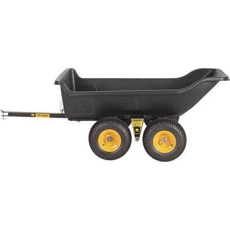 polar tandem axle hd 1500ta utility trailer 1 500 lb capacity 22 cu ft model 8262