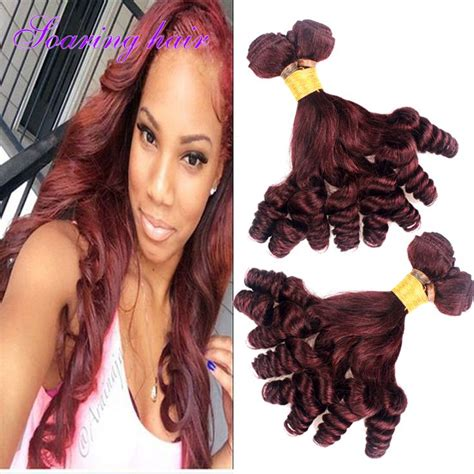 pictures of brazillian spiral weave hair 17 best images about 99j burgundy weave human hair on