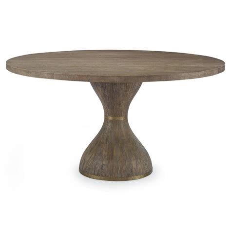 Oak Pedestal Dining Table Rotunda Modern Hourglass Rustic Oak Pedestal Dining Table