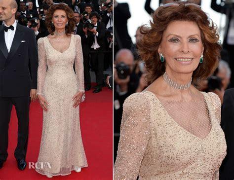 sophia loren cannes 2014 sophia loren red carpet fashion awards