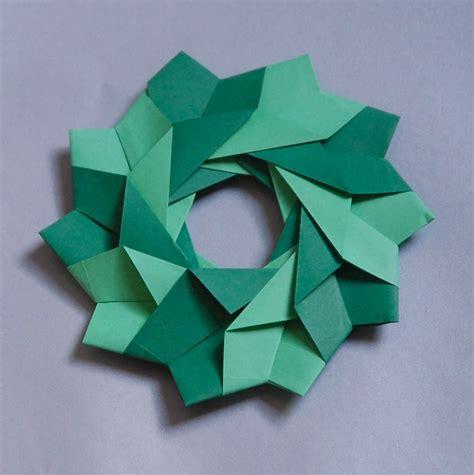 Origami Wreaths And Rings - l camargo origami modular